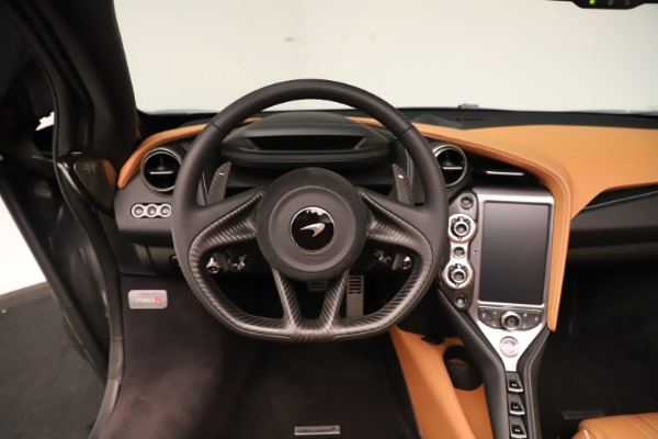 New 2020 McLaren 720S Spider for sale $372,250 at Bentley Greenwich in Greenwich CT 06830 9