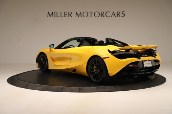 New 2020 McLaren 720S SPIDER Convertible for sale $385,690 at Bentley Greenwich in Greenwich CT 06830 12
