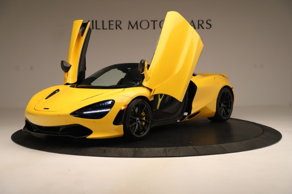 New 2020 McLaren 720S SPIDER Convertible for sale $385,690 at Bentley Greenwich in Greenwich CT 06830 18