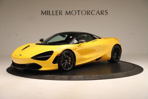 New 2020 McLaren 720S SPIDER Convertible for sale $385,690 at Bentley Greenwich in Greenwich CT 06830 2