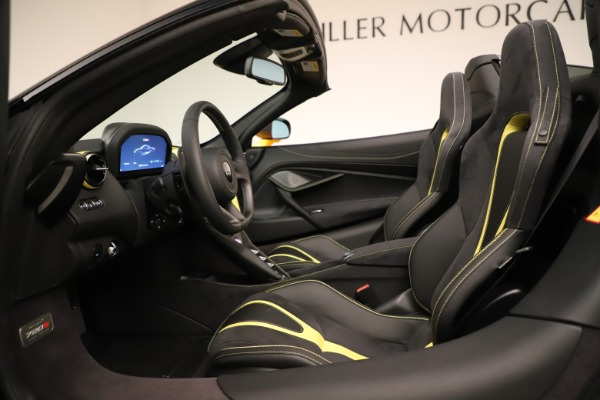 New 2020 McLaren 720S SPIDER Convertible for sale $385,690 at Bentley Greenwich in Greenwich CT 06830 27