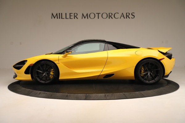New 2020 McLaren 720S SPIDER Convertible for sale $385,690 at Bentley Greenwich in Greenwich CT 06830 3