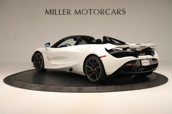 New 2020 McLaren 720S SPIDER Convertible for sale $389,940 at Bentley Greenwich in Greenwich CT 06830 12