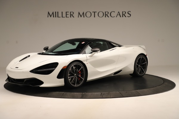 New 2020 McLaren 720S SPIDER Convertible for sale $389,940 at Bentley Greenwich in Greenwich CT 06830 2