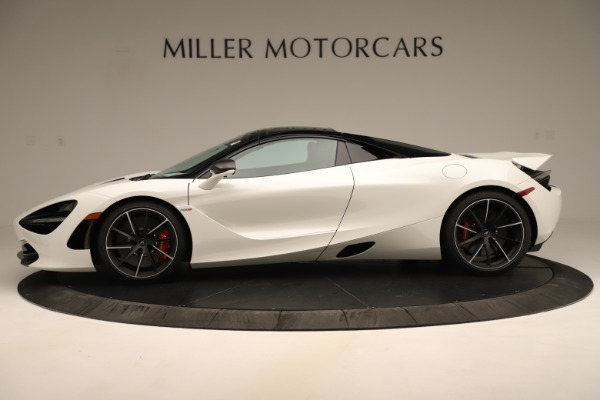 New 2020 McLaren 720S SPIDER Convertible for sale $389,940 at Bentley Greenwich in Greenwich CT 06830 3