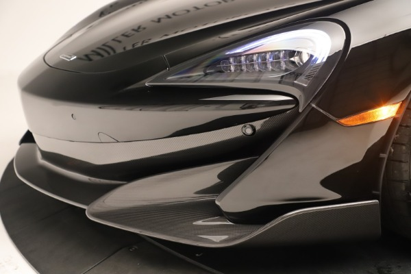 Used 2019 McLaren 600LT Luxury for sale Call for price at Bentley Greenwich in Greenwich CT 06830 19
