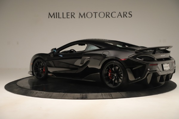 New 2019 McLaren 600LT Coupe for sale Sold at Bentley Greenwich in Greenwich CT 06830 3
