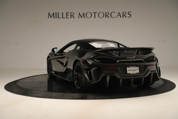 Used 2019 McLaren 600LT Luxury for sale Call for price at Bentley Greenwich in Greenwich CT 06830 4