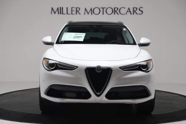 New 2019 Alfa Romeo Stelvio Ti Lusso Q4 for sale Sold at Bentley Greenwich in Greenwich CT 06830 12