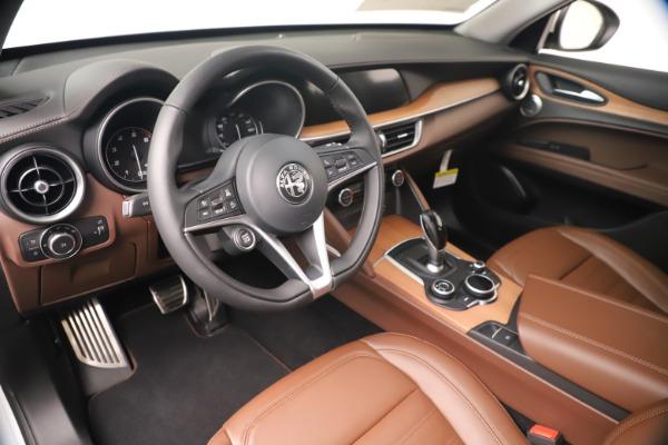 New 2019 Alfa Romeo Stelvio Ti Lusso Q4 for sale Sold at Bentley Greenwich in Greenwich CT 06830 13