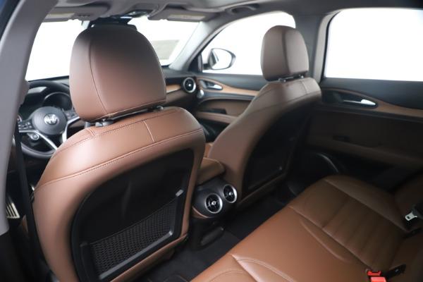 New 2019 Alfa Romeo Stelvio Ti Lusso Q4 for sale Sold at Bentley Greenwich in Greenwich CT 06830 20
