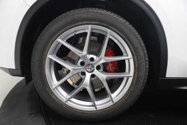 New 2019 Alfa Romeo Stelvio Ti Lusso Q4 for sale Sold at Bentley Greenwich in Greenwich CT 06830 28