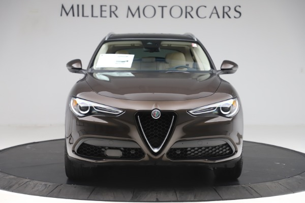 New 2019 Alfa Romeo Stelvio Ti Lusso Q4 for sale Sold at Bentley Greenwich in Greenwich CT 06830 12
