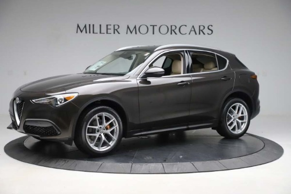 New 2019 Alfa Romeo Stelvio Ti Lusso Q4 for sale Sold at Bentley Greenwich in Greenwich CT 06830 2