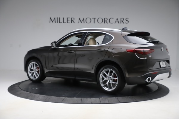 New 2019 Alfa Romeo Stelvio Ti Lusso Q4 for sale Sold at Bentley Greenwich in Greenwich CT 06830 4