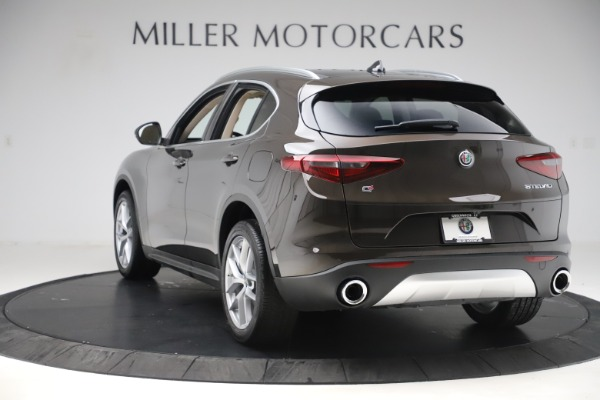 New 2019 Alfa Romeo Stelvio Ti Lusso Q4 for sale Sold at Bentley Greenwich in Greenwich CT 06830 5