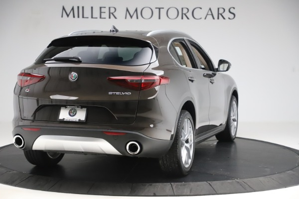 New 2019 Alfa Romeo Stelvio Ti Lusso Q4 for sale Sold at Bentley Greenwich in Greenwich CT 06830 7