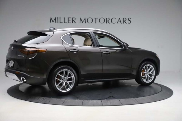 New 2019 Alfa Romeo Stelvio Ti Lusso Q4 for sale Sold at Bentley Greenwich in Greenwich CT 06830 8