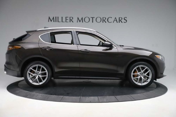 New 2019 Alfa Romeo Stelvio Ti Lusso Q4 for sale Sold at Bentley Greenwich in Greenwich CT 06830 9