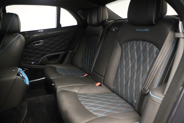 Used 2018 Bentley Mulsanne Speed Design Series for sale Sold at Bentley Greenwich in Greenwich CT 06830 25