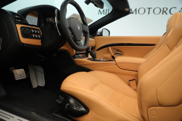 New 2019 Maserati GranTurismo Sport Convertible for sale Sold at Bentley Greenwich in Greenwich CT 06830 20