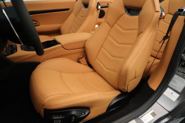 New 2019 Maserati GranTurismo Sport Convertible for sale Sold at Bentley Greenwich in Greenwich CT 06830 21