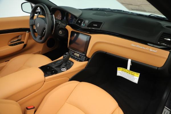 New 2019 Maserati GranTurismo Sport Convertible for sale Sold at Bentley Greenwich in Greenwich CT 06830 26