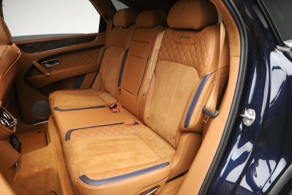 New 2020 Bentley Bentayga Speed for sale Sold at Bentley Greenwich in Greenwich CT 06830 26
