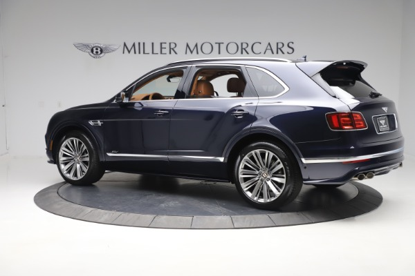 New 2020 Bentley Bentayga Speed for sale Sold at Bentley Greenwich in Greenwich CT 06830 4