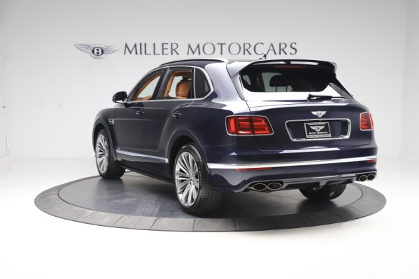 New 2020 Bentley Bentayga Speed for sale Sold at Bentley Greenwich in Greenwich CT 06830 5