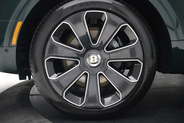 New 2020 Bentley Bentayga V8 Design Series for sale $223,015 at Bentley Greenwich in Greenwich CT 06830 15