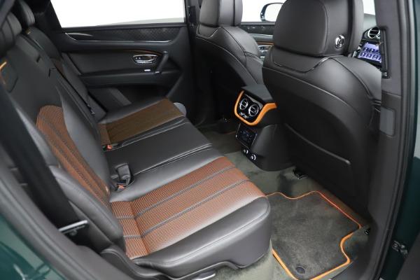 New 2020 Bentley Bentayga V8 Design Series for sale $223,015 at Bentley Greenwich in Greenwich CT 06830 27