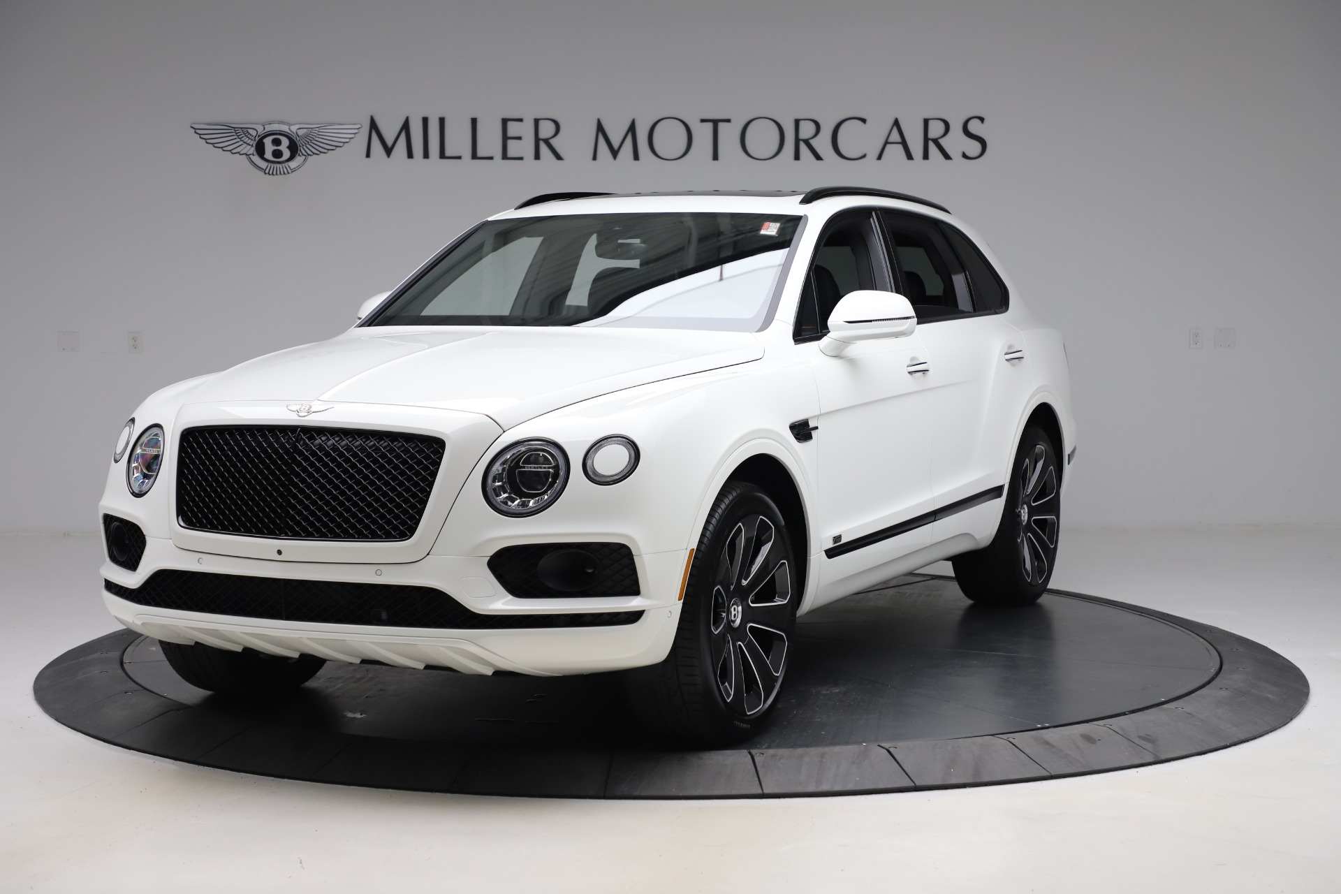 New 2020 Bentley Bentayga V8 Design Series for sale $216,860 at Bentley Greenwich in Greenwich CT 06830 1