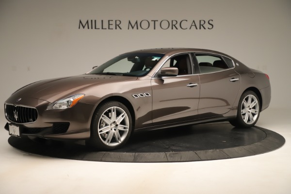 Used 2014 Maserati Quattroporte S Q4 for sale Sold at Bentley Greenwich in Greenwich CT 06830 2
