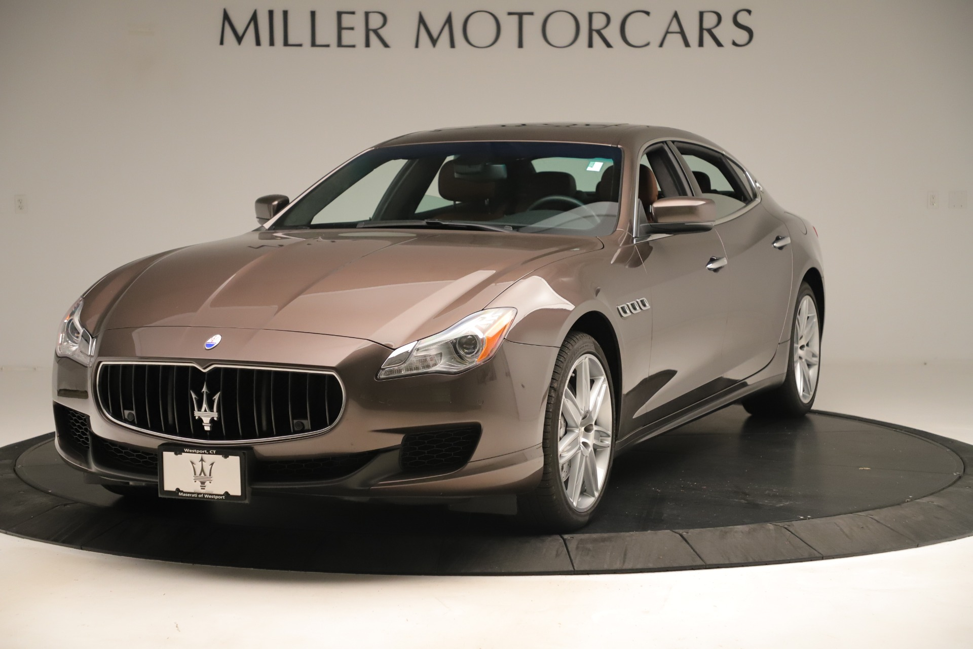 Used 2014 Maserati Quattroporte S Q4 for sale Sold at Bentley Greenwich in Greenwich CT 06830 1