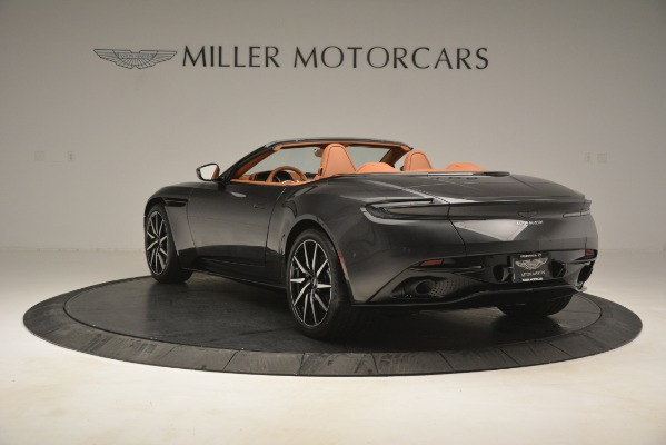 Used 2019 Aston Martin DB11 V8 Volante for sale Sold at Bentley Greenwich in Greenwich CT 06830 4