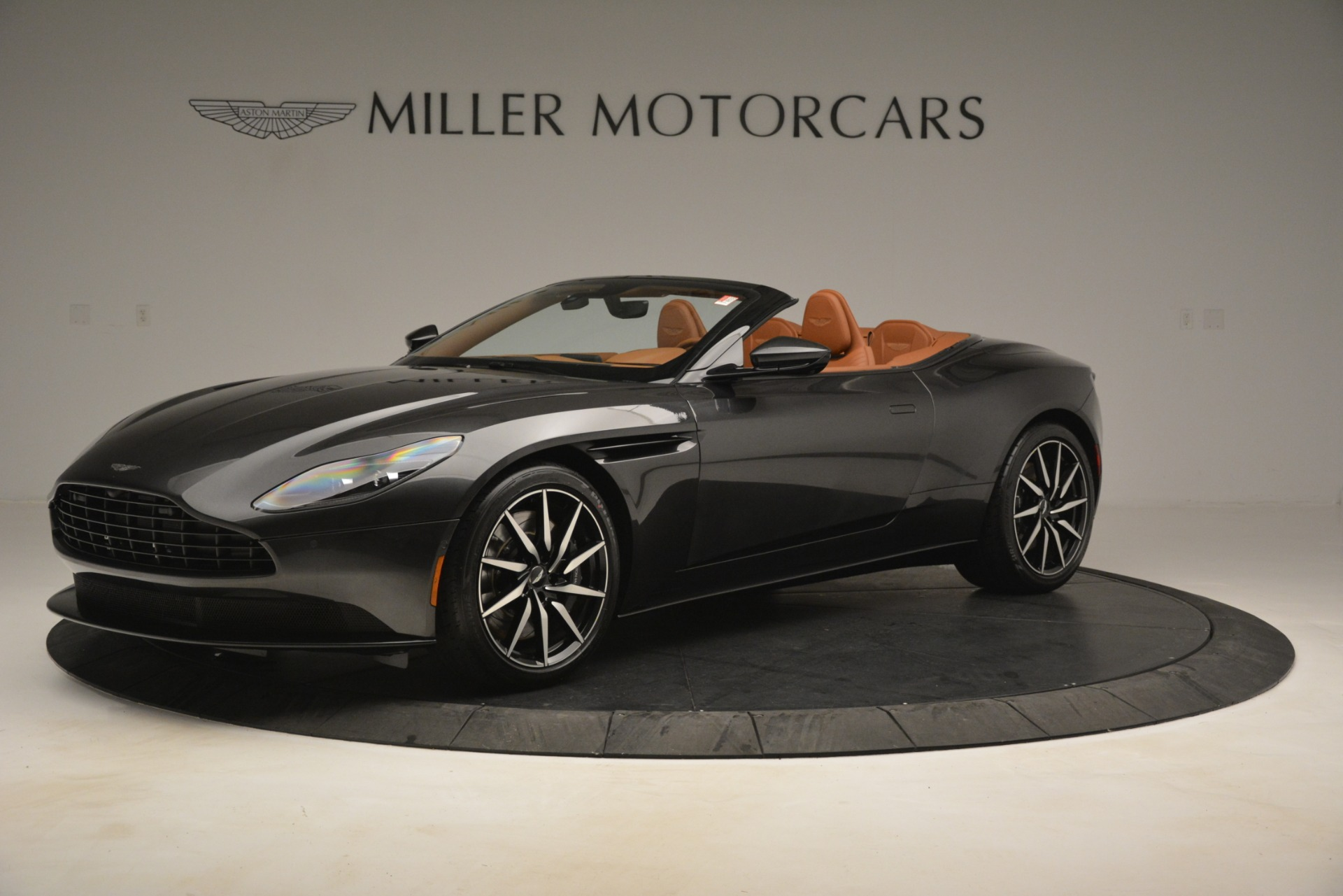 Used 2019 Aston Martin DB11 V8 Volante for sale Sold at Bentley Greenwich in Greenwich CT 06830 1