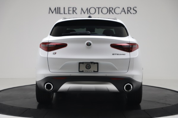 New 2019 Alfa Romeo Stelvio Ti Q4 for sale Sold at Bentley Greenwich in Greenwich CT 06830 6