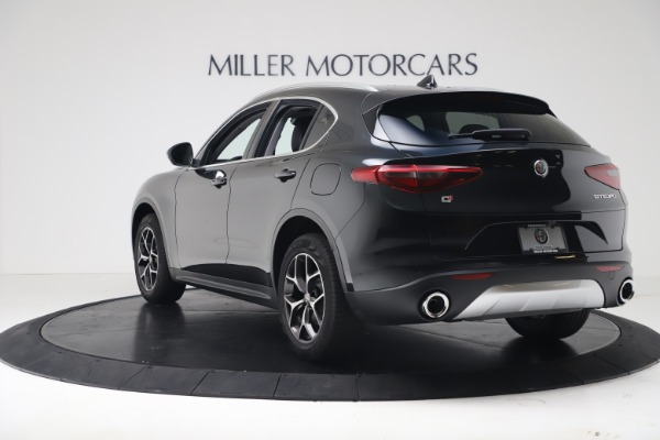 New 2019 Alfa Romeo Stelvio Ti Q4 for sale Sold at Bentley Greenwich in Greenwich CT 06830 5