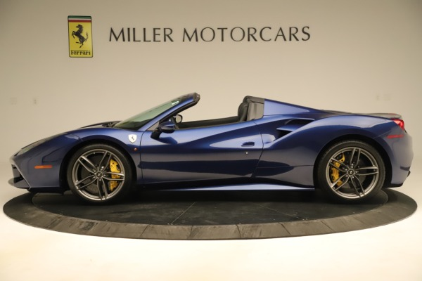 Used 2019 Ferrari 488 Spider for sale Sold at Bentley Greenwich in Greenwich CT 06830 3