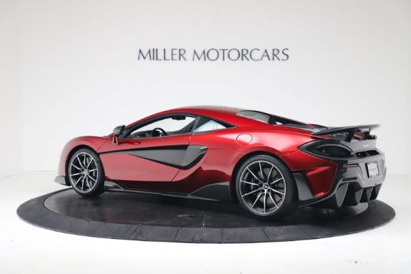 New 2019 McLaren 600LT for sale $285,236 at Bentley Greenwich in Greenwich CT 06830 3
