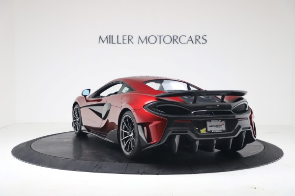 New 2019 McLaren 600LT for sale $285,236 at Bentley Greenwich in Greenwich CT 06830 4