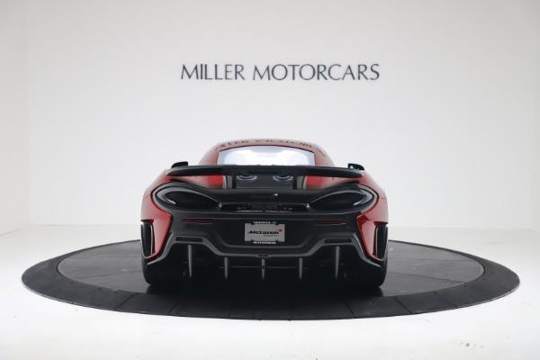 New 2019 McLaren 600LT Luxury for sale $285,236 at Bentley Greenwich in Greenwich CT 06830 5