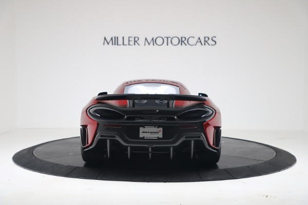 New 2019 McLaren 600LT for sale $285,236 at Bentley Greenwich in Greenwich CT 06830 5