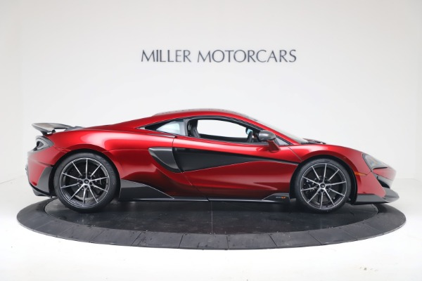 New 2019 McLaren 600LT Coupe for sale $285,236 at Bentley Greenwich in Greenwich CT 06830 8