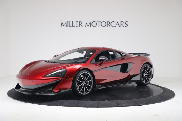 New 2019 McLaren 600LT Coupe for sale $285,236 at Bentley Greenwich in Greenwich CT 06830 1