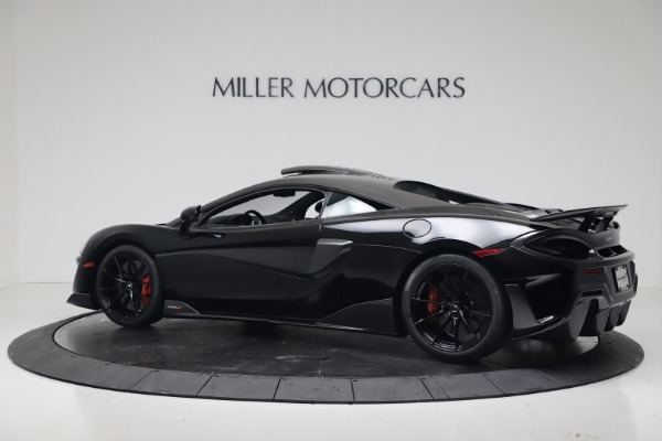 New 2019 McLaren 600LT for sale $305,639 at Bentley Greenwich in Greenwich CT 06830 3