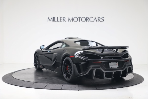 New 2019 McLaren 600LT Coupe for sale $305,639 at Bentley Greenwich in Greenwich CT 06830 4