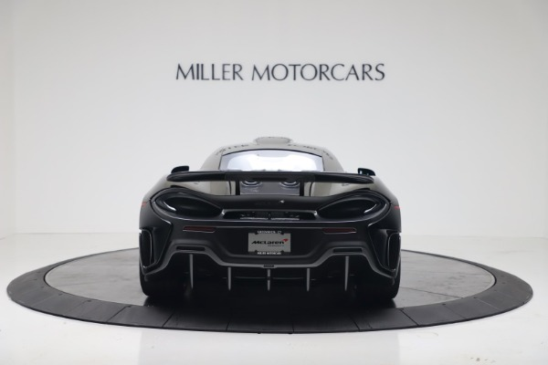 New 2019 McLaren 600LT for sale $305,639 at Bentley Greenwich in Greenwich CT 06830 5