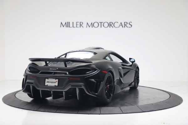 New 2019 McLaren 600LT for sale $305,639 at Bentley Greenwich in Greenwich CT 06830 6